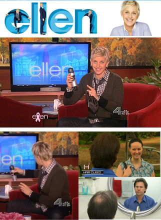 haircubed fiber on ellen degeneres show