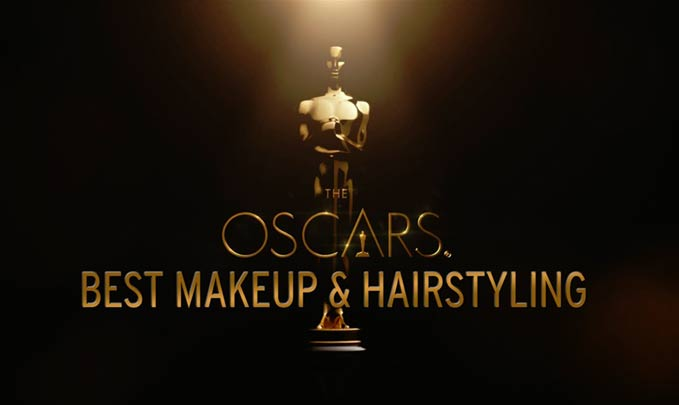 Oscars makeup and hair styling