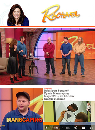 Haircubed fiber on Rachael Ray show