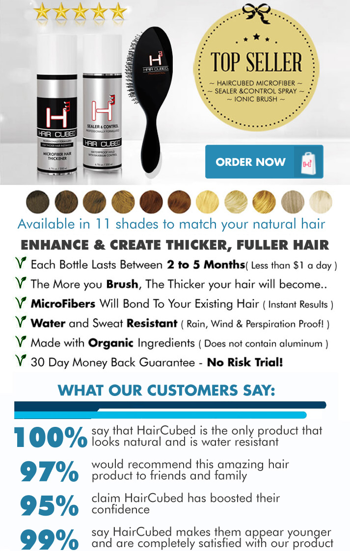 HairCubed enhance and create thicker fuller hair